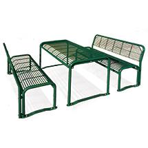 Stahlrohr-Tisch Sevilla