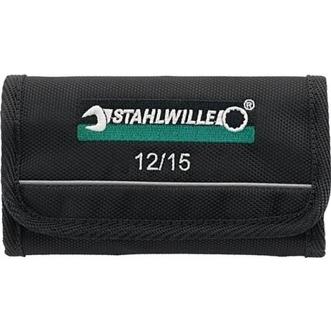 Stahlwille 12//15 Doppelmaulschlüssel-Satz ELECTRIC 15-teilig 3,2-14 mm