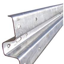 Stalen vangrail, lengte 4300 mm