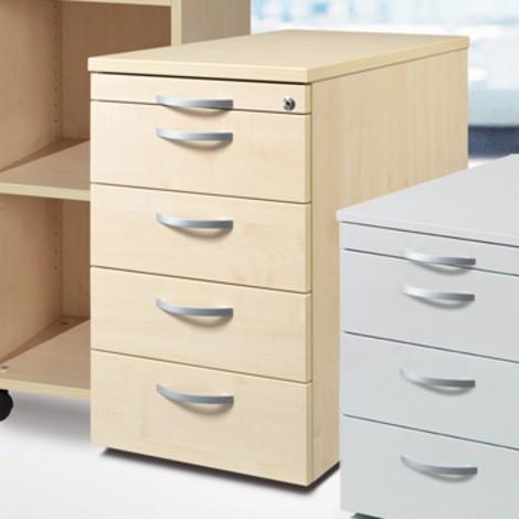 Standcontainer mit Hängeregistratur und 2 Schubladen