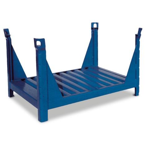 Stapelbak HESON® voor lange goederen, open, gelakt, bxd 1.000 x 800 mm