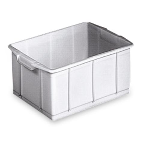 Stapelbehälter für Lebensmittel aus Polyethylen. Inhalt 23 Liter