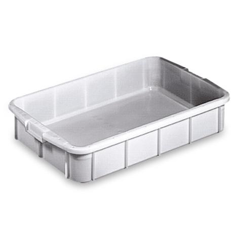Stapelbehälter für Lebensmittel aus Polyethylen. Inhalt 28 Liter