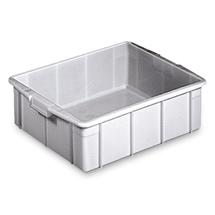 Stapelbehälter für Lebensmittel aus Polyethylen. Inhalt 31 Liter