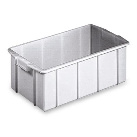 Stapelbehälter für Lebensmittel aus Polyethylen. Inhalt 35 Liter