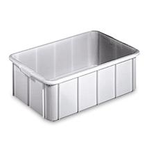Stapelbehälter für Lebensmittel aus Polyethylen. Inhalt 50 Liter