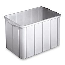 Stapelbehälter für Lebensmittel aus Polypropylen. Inhalt 96 Liter