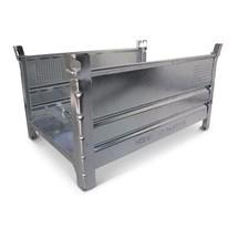 Stapelbehälter HESON® für Langgut, 2 Seiten offen, feuerverzinkt