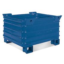 Stapelbehälter HESON ® mit Gabeltaschen. Tragkraft 2000 kg