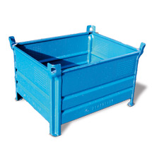 Stapelbehälter HESON ® mit Vollwand. Tragkraft 500 kg