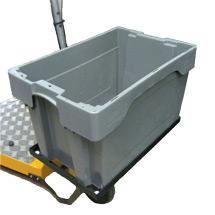 Stapelbox f. Elektro-Transportroller AMEISE 1000