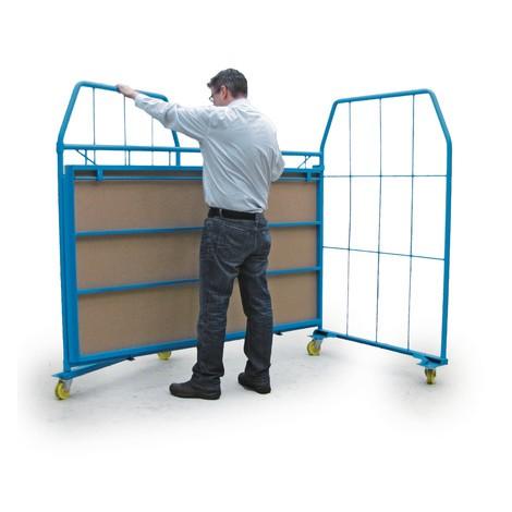 Stapelbox Universal, Seitengitter + Rückwand