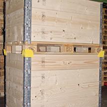 Stapelecken für Paletten-Aufsatzrahmen
