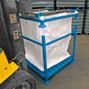 Stapelgestell für Transportsäcke Big Bag. Tragkraft 600 kg, Höhe 1170 mm