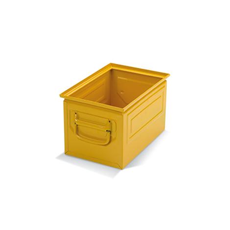 Stapelkasten aus Stahlblech. Maß 300 x 200 x 200 mm (LxBxH)