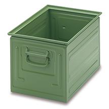 Stapelkasten aus Stahlblech. Maß 350 x 200 x 200 mm (LxBxH)