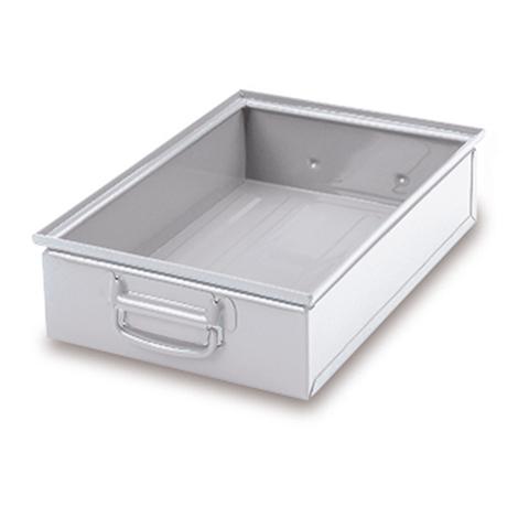 Stapelkasten aus Stahlblech. Maß 450 x 300 x 300 mm (LxBxH)