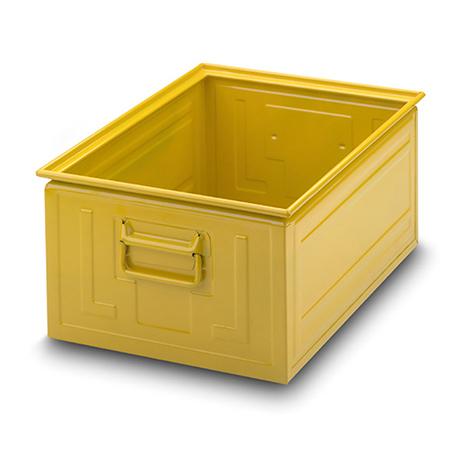 Stapelkasten aus Stahlblech. Maß 630 x 450 x 300 mm (LxBxH)