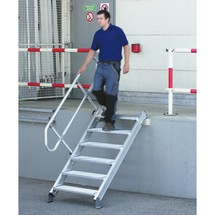 Stationaire trap Zarges, helling 45°