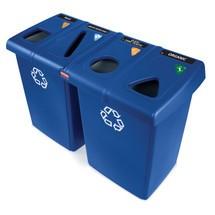Stazione di riciclaggio Rubbermaid Glutton®