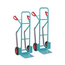 Steekwagen Ameise®, met glijvlakken, set van 2