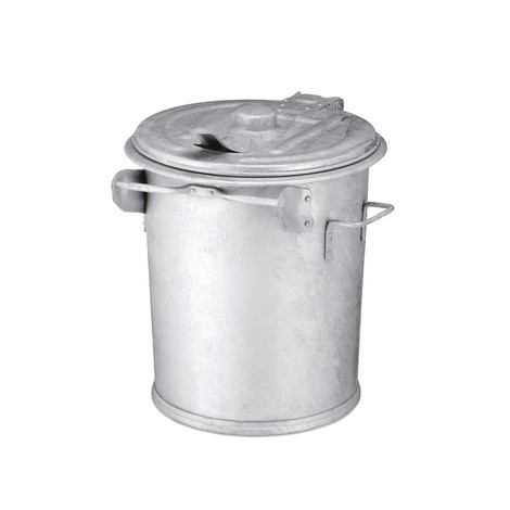 Steel plate waste container