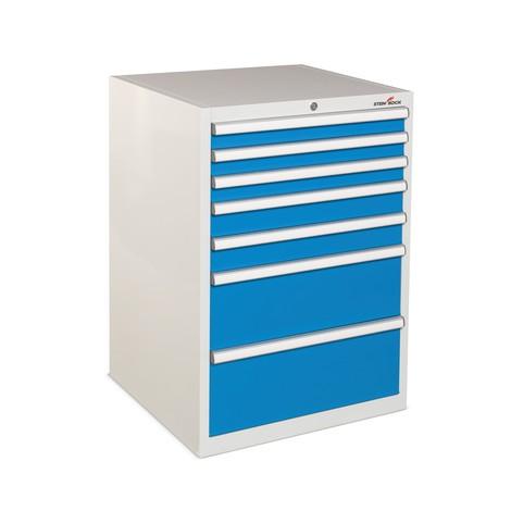 Steinbock® drawer cabinet, capacity per drawer 140 kg