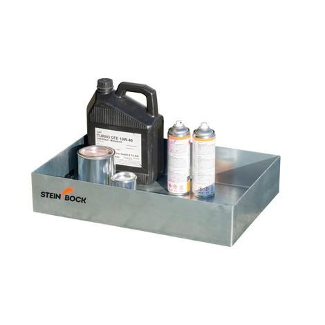 Steinbock® pall container fack, av stål, förzinkad