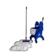 Steinbock® Set di carrelli per pulizia entry-level, benna a trazione singola
