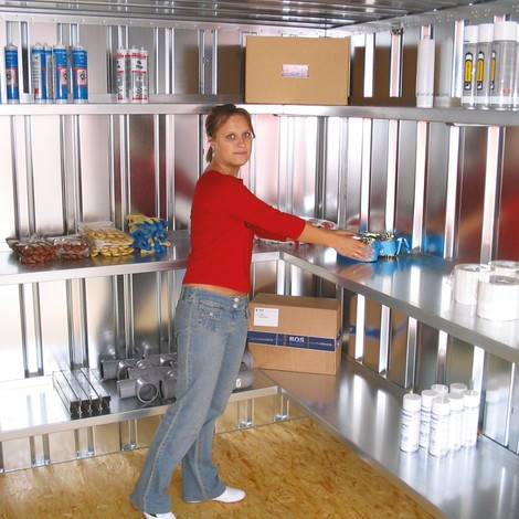 Stellingsysteem voor SC- en SGL-containers