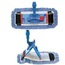 Step mop houder