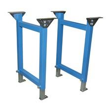 Steun voor rollenbaan voor zware lasten, dubbele staander type U1
