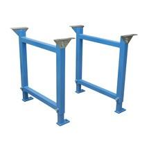 Steunen voor zwaarlastrollenbaan 50/50 x 4 mm, voor baanbreedtes tot 600 mm