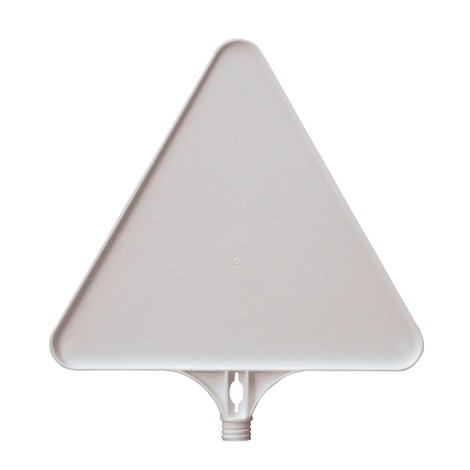 štítek s upozorněním prázdná, trojúhelník