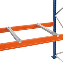 Stödskena till lastpallställ SCHULTE typ S, för stöd av spånskivor