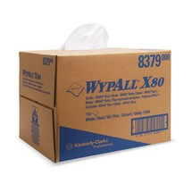 Stofdoeken WYPALL*X80, BRAG*Box, staalblauw of wit
