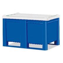 Stolpdeksel voor palletboxen Blue