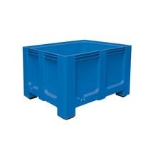 Stor beholder af polyethylen, 610 liter, med fødder