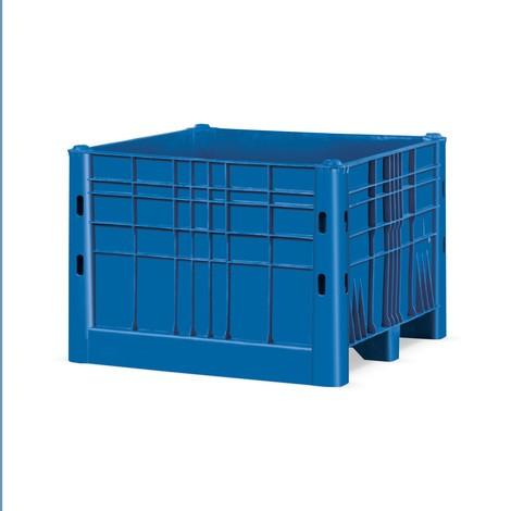 Stora containrar, med löpare, stängda