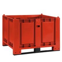 Storbehållare av polypropylen, 550 liter, med traverser