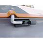 Streugutbehälter aus GFK ohne Entnahmeöffnung. Inhalt bis 2200 Liter