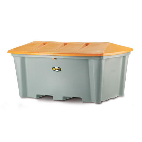 Streugutbehälter ohne Entnahmeöffnung. Inhalt bis 500 Liter