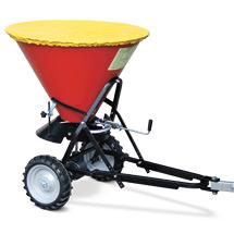 Streuwagen als Anhänger für Gabelstapler. Inhalt 105 Liter