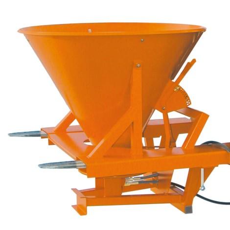 Strooi-inrichting met stapelhoeken. Inhoud 265 liter