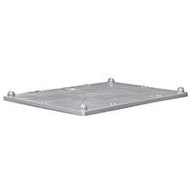 Stülpdeckel für Großboxen, LxB 1200x800mm, grau