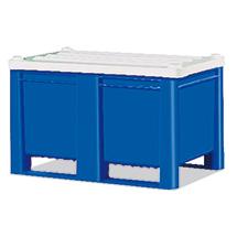Stülpdeckel für Palettenbox Blue