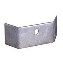 Stützbügel für Stahlschutzplanke