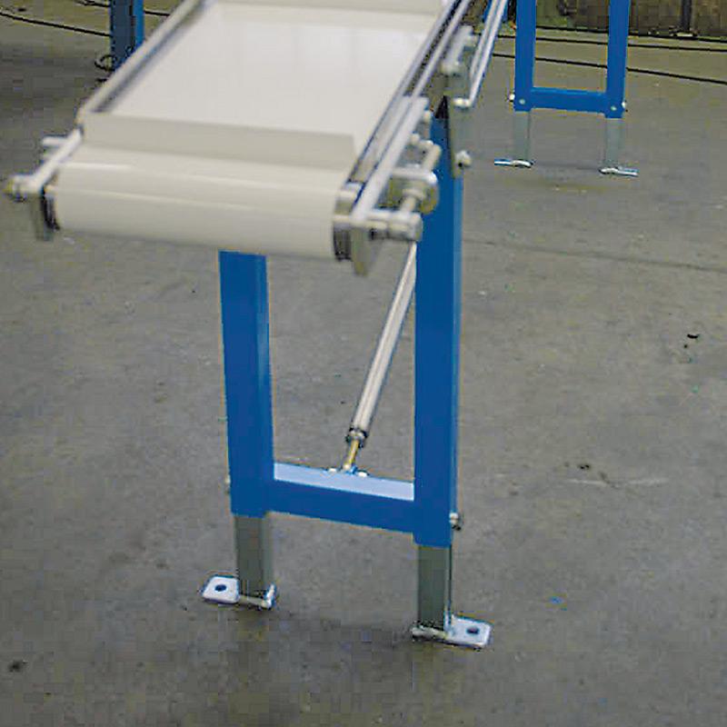 Stützen für Gleitbandförderer Typ 80, Bahnbreite 500mm