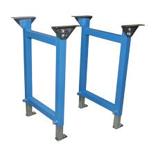 Stützen für Schwerlastrollenbahn 40/40 x 2 mm, Bahnbreiten bis 600 mm