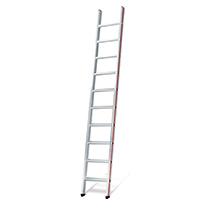 Stufen-Anlegeleiter HYMER ® Premium. Bis ca. 4,95 m Arbeitshöhe